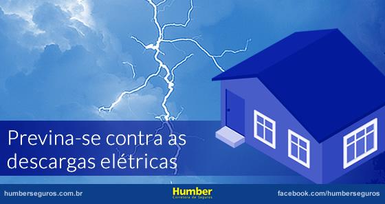 Previna-se contra as descargas elétricas