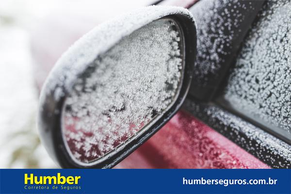 cuidados com o carro no frio