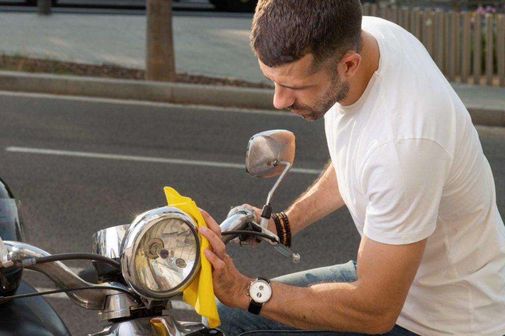 cuidados com a moto