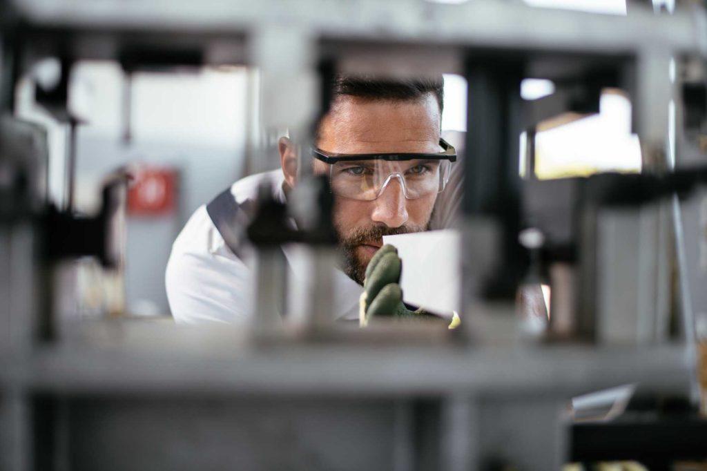 inspeção de maquinas e equipamentos